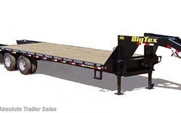 Big Tex Tandem Dual Axle Gooseneck 25'