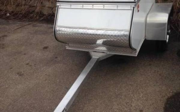 Mission Pull Behind Motorcycle Trailer