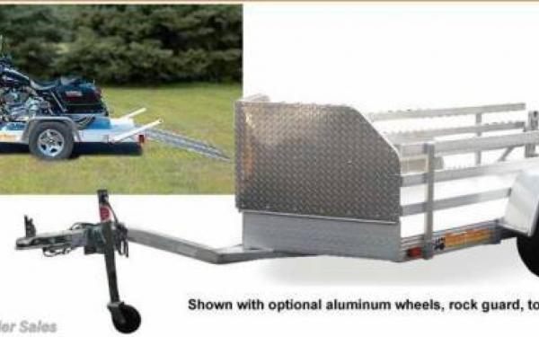 Bear Track Aluminum Motorcycle Trailer