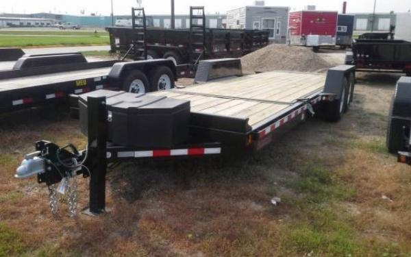 "Midsota 81.5"" x 20' Tilt Bed Trailer"