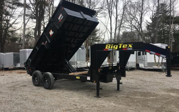 2019 Big Tex 14GX 83x14 14000lb Gooseneck Dump Trailer