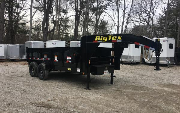 2018 Big Tex 14GX 83x14 14000lb Gooseneck Dump Trailer