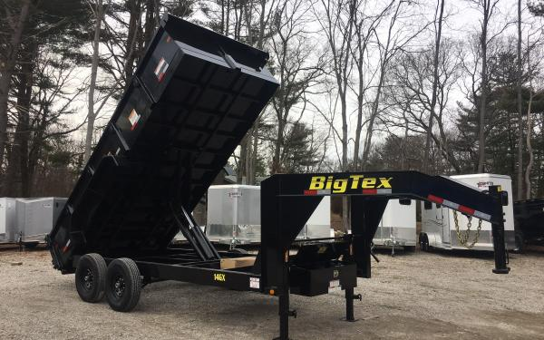 2020 Big Tex 14GX 83x16 14000lb Gooseneck Dump Trailer