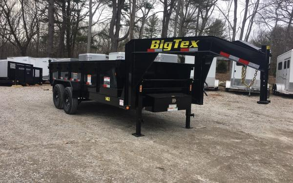 2018 Big Tex 14GX 83x16 14000lb Gooseneck Dump Trailer
