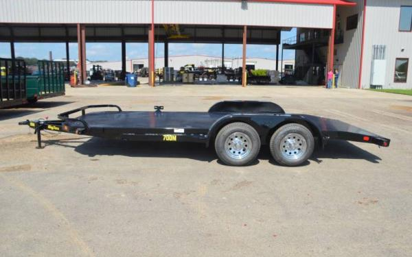 Tandem Axle Diamond Back Car Hauler Trailer