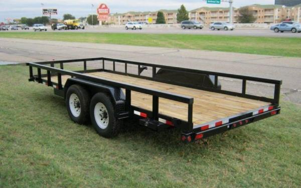 Heavy Duty Pipe Tandem Axle Trailer