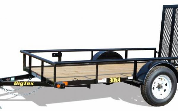 Single Axle Utility Trailer