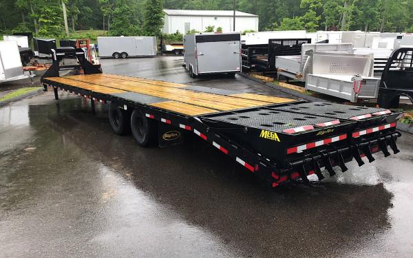2018 Big Tex 25gn 35 5 With Mega Ramps 25 900lb Gvwr Bh