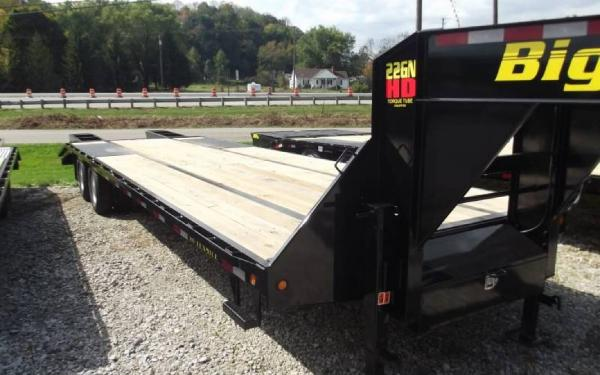 New 2015 Big Tex Trailers Gooseneck Pintle Trailers 22GN HD