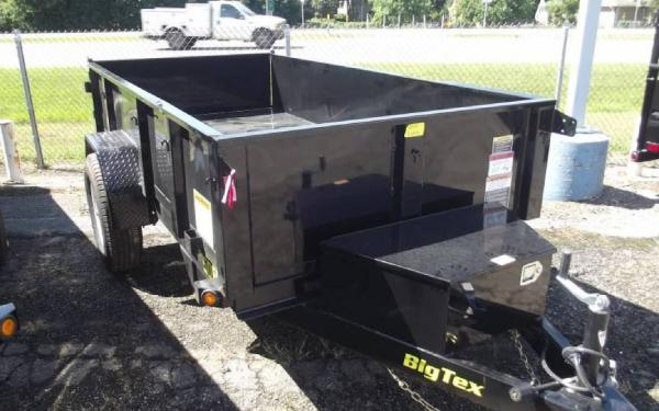 New 2015 Big Tex Trailers Dump Bed Trailers 50SR105W