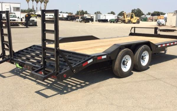 "14DF-102"" x 18 Tandem Axle Equipment Trailer"