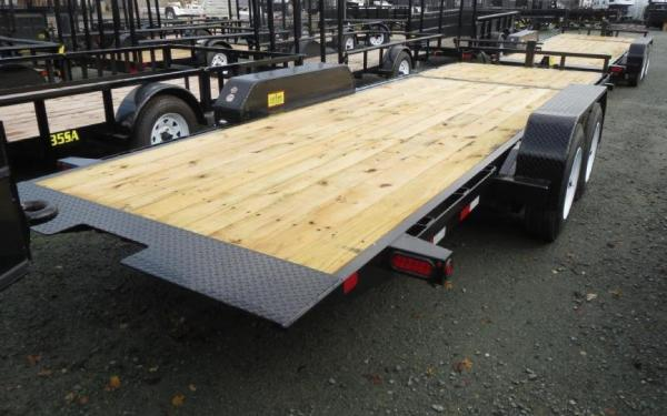 Big Tex 16TL- 22 (16 + 6) Super Duty Tilt Bed Trailer