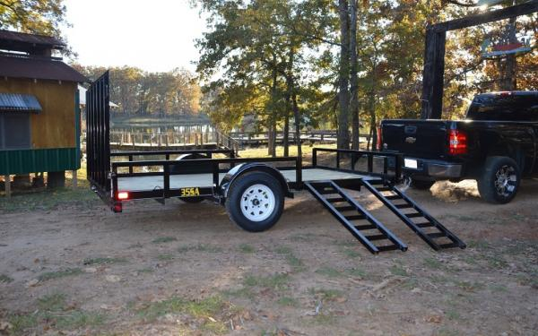 Big Tex 35SA- 12 Single Axle Utility Trailer