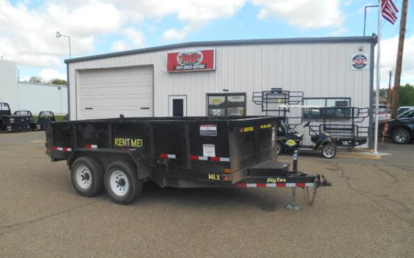 **RENTAL TRAILER **14' Dump Trailer Rental - $99/Day - Weekend, Weekly & Monthly Rates Available