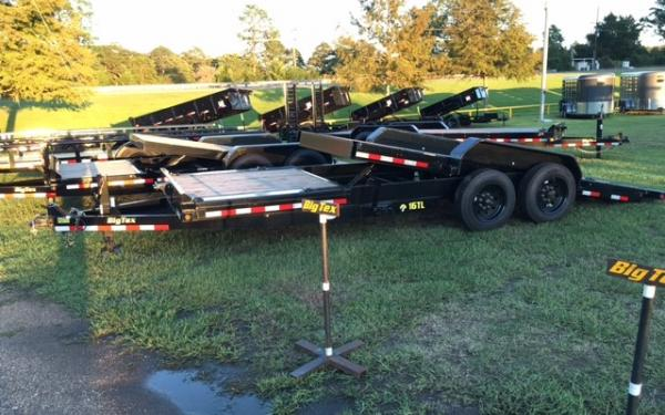 "Big Tex 16TL- 83"" x 22 (16 + 6) Super Duty Tilt Bed Trailer"