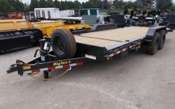 "Big Tex 16TL 83"" x 22 (16 + 6) Super Duty Tilt Bed Trailer 2018 & 2019 Models"