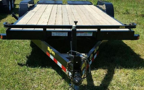"Big Tex 10ET 83"" x 18 Pro Series Tandem Axle Equipment Trailer"