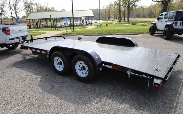 "Big Tex 70DM 83"" x 18 Tandem Axle Premium Car Hauler"