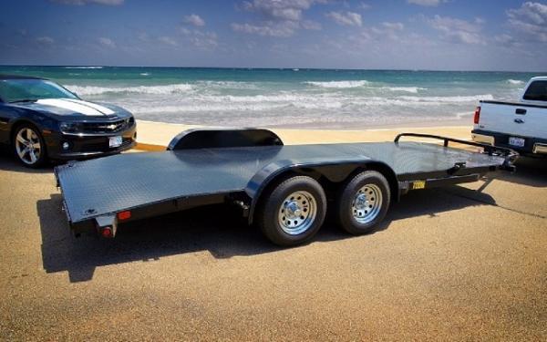 """Big Tex 70DM 83"""" x 18 Tandem Axle Premium Car Hauler 2018 & 2019 Models"""
