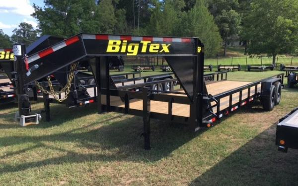 "Big Tex 14GP 83"" x 24 HD Gooseneck Tandem Axle Pipe Top Lowboy 2018 & 2019 Models"