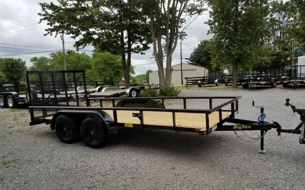 Big Tex 45SS-16 Tandem Axle Equipment Trailer