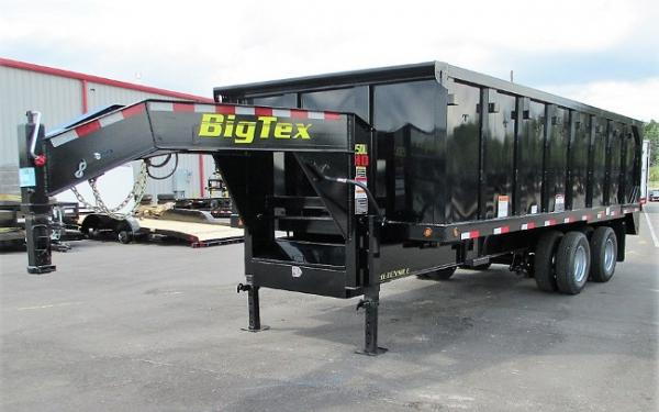 Big Tex 25DU 25,900#,TD,DU,(8X20) 4SIDES Black,8 Slide in Ramps