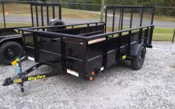 "Big Tex 35SV-77"" x 12 Single Axle Vanguard Trailer"