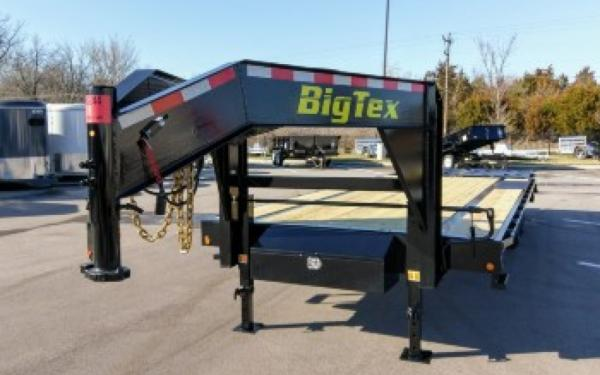 Big Tex 14GN Single Wheel Tandem Gooseneck 20+5MR