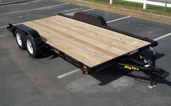 2019 Big Tex 60 CH Light Duty Car/Equipment Trailer