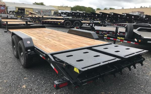 Big Tex 14et 83 Quot X 20 Tandem Axle Equipment Trailer East