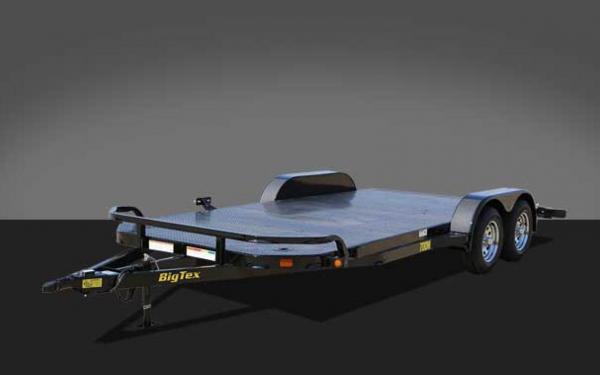 big tex 18 u0026 39  tandem axle diamond back car hauler 70dm