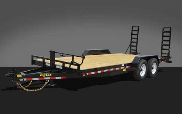 18' Big Tex Tandem Axle Equipment Trailer 14ET-18KR