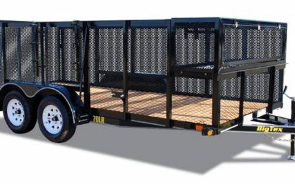 Big Tex 14' Tandem Axle Landscape Trailer 70LR-14