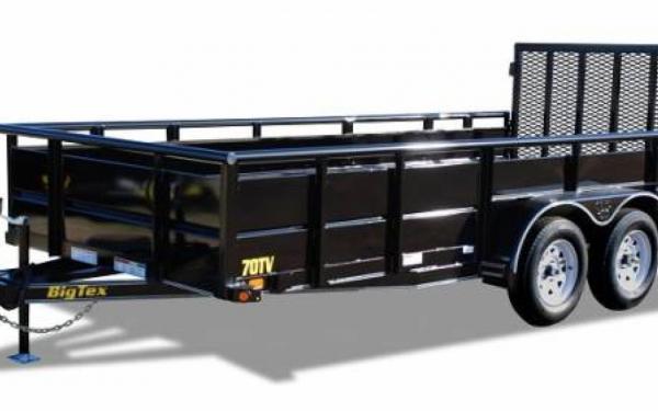 Big Tex 12' Tandem Axle Vanguard 70TV-12