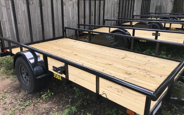 Big Tex 14' Single Axle Utility trailer 35SA-14
