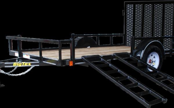 Big Tex 12' Single Axle Utility trailer 35SA-RSX-12