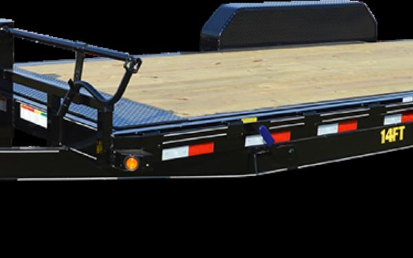 Big Tex 14FT-16 Heavy Duty Full Tilt Bed Equipment