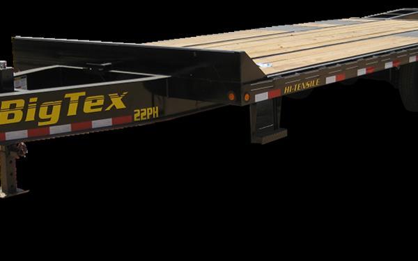 Big Tex 22PH-20+5 Tandem Dual Wheel Pintle