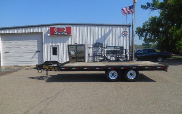 **RENTAL TRAILER** 18' DECK OVER TRAILER FOR RENT - $99/DAY - WEEKEND, WEEKLY & MONTHLY RATES AVAILABLE