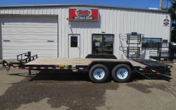 **RENTAL TRAILER** 20' EQUIPMENT TRAILER  - $99/DAY - WEEKEND, WEEKLY & MONTHLY RATES AVAILABLE