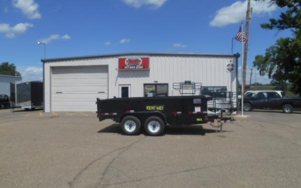 **RENTAL TRAILER** 14' Dump Trailer Rental - $99/Day - Weekend, Weekly & Monthly Rates Available