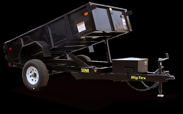 Big Tex Single Axle Single Ram Dump 50SR-10-5WDD