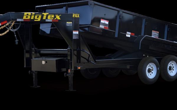 Big Tex 21GX-16 Triple Axle Extra Wide Gooseneck Dump