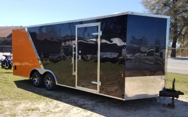 Continental Cargo Enclosed Auto Carrier Harley Davidson Edition-special order