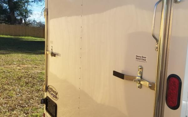 forest river 7x16 enclosed trailer