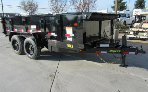 Big Tex 16LX-14 Super Duty Tandem Axle Extra Wide Dump