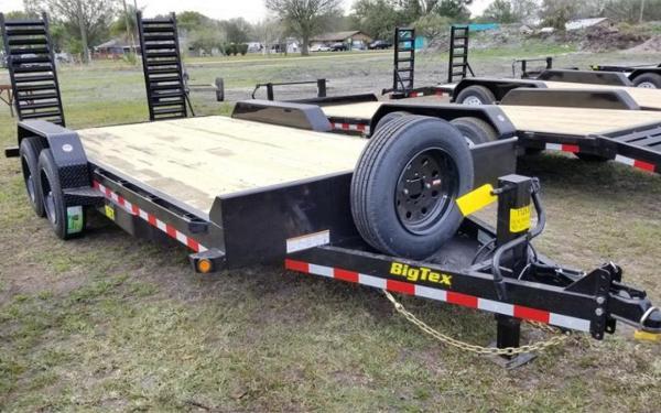 Big Tex 16ET-15+3 Super Duty Tandem Axle Equipment