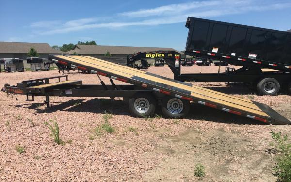 "2018 Maxxd TOX 102""x 24' Deck Over Tilt Bed # 7738"