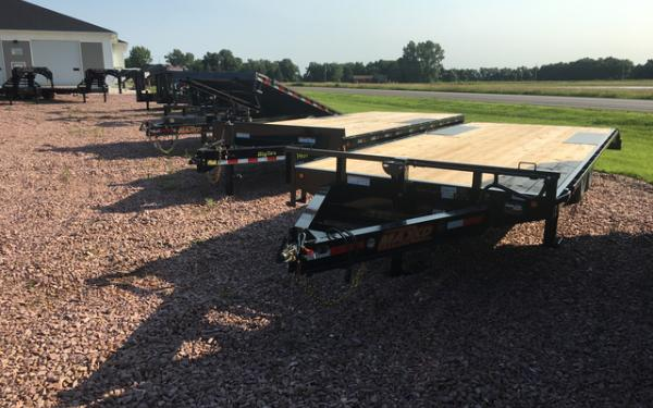 2018 Maxxd DOX 102 x 24 Deck Over Equipment Trailer #6690