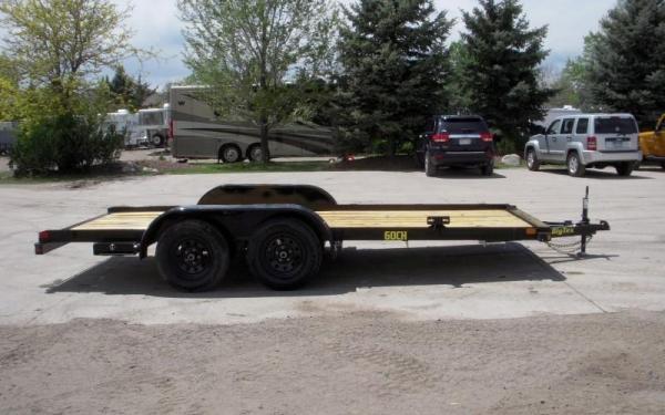 """Big Tex 60CH-83"""" x 16 Economy Tandem Axle Car Haule"""